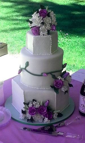 Sherry and Greg's cake - Cake by Scott R.