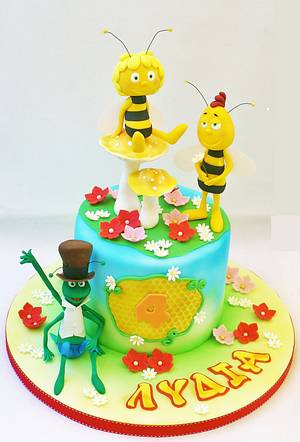 Maya the bee cake - Cake by WhenEffieDecidedToBake