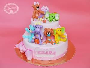 Birthday cake - Cake by Cofetaria Dana