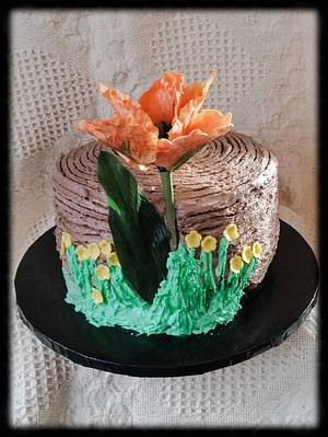 """Encouragement Cake - Cake by June (""""Clarky's Cakes"""")"""
