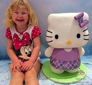 A thank you - Hello Kitty - Cake by Alana Lily Chocolates & Cakes