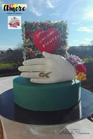 Small, unaware, fighters - Cake by ANTONELLA VACCIANO