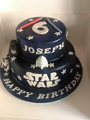 Star Wars -pre Awakens! - Cake by JulieCraggs
