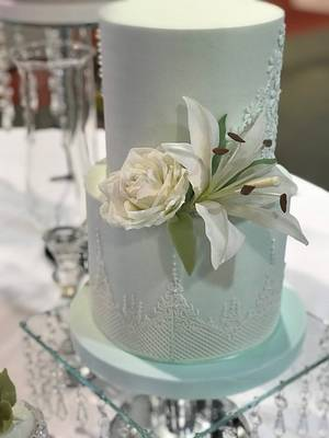 Lirio cake - Cake by Griselda de Pedro