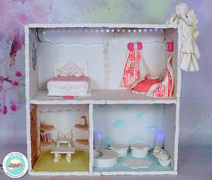 Caker Buddies Cake Collab - An Angel's Abode by Cake Sapphire - Cake by Cakesapphire