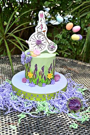 A Painted Easter collab - my entry - Cake by miettes