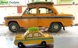 The green cab cake - Cake by Sunaina Sadarangani Gera