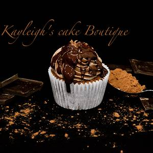 Chocolate Nutella cupcake - Cake by Kayleigh's cake boutique