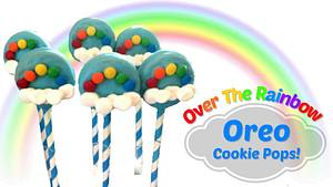 OVER THE RAINBOW OREO COOKIE POPS!  - Cake by Miss Trendy Treats