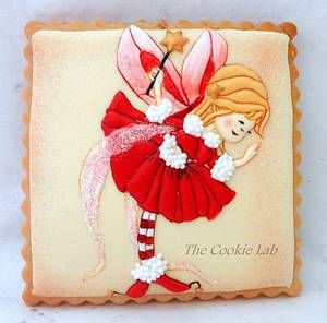 Christmas Fairy - Cake by The Cookie Lab  by Marta Torres