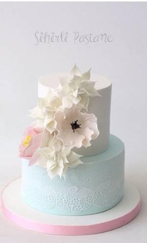 Gardenia Cake - Cake by Sihirli Pastane