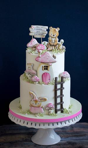 Mushrooms - Cake by Vanilla & Me
