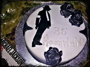 Michael Jackson tribute cake - Cake by Emily Lovett