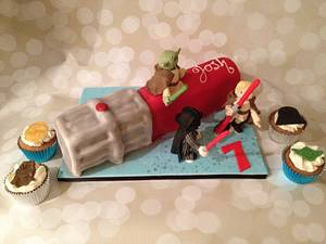 Heading over to the dark side - Cake by For goodness cake barlick