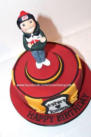 mens birthday cake - Cake by Zoe's Fancy Cakes