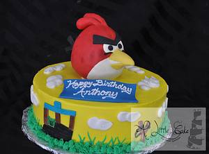 Angry Bird Cake for Kids - Cake by Leo Sciancalepore