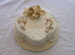 Cupid ! - Cake by Trine Skaar