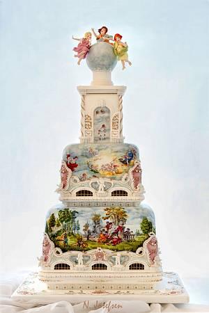 Rococo cake - Cake by Neli