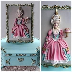 Marie Antoinette - Cake by Antonia Lazarova