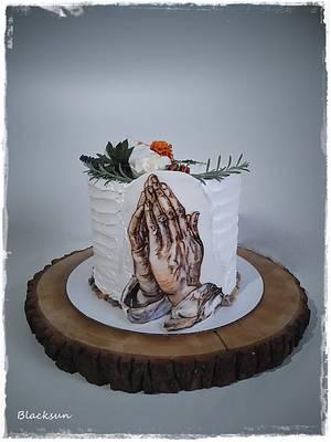 Praying hands - Cake by Zuzana Kmecova