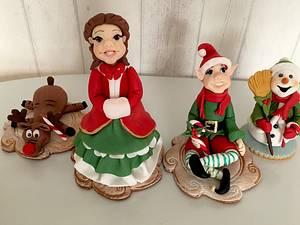 Christmas party  - Cake by laskova