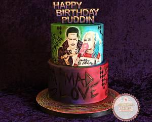 MAD LOVE - Cake by Sunitha Jossey