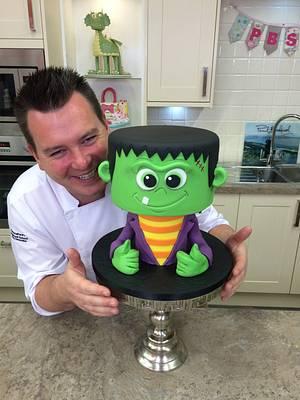 Wee Frankie - Cake by Paul Bradford Sugarcraft School