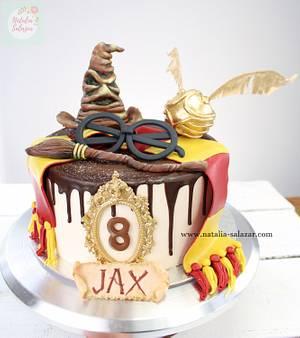 Harry Potter cake| Natalia Salazar  - Cake by Natalia Salazar