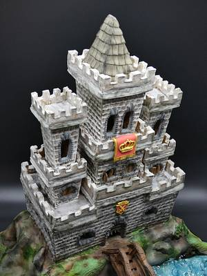 Royal castle  - Cake by Olina Wolfs