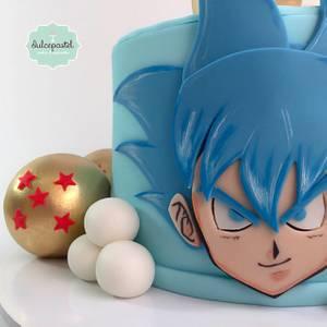 Torta Goku Medellín - Cake by Dulcepastel.com