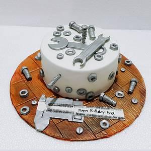Nuts and Bolts - Cake by Urvi Zaveri