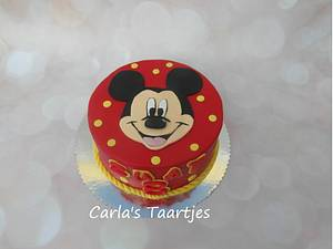 Mickey Mouse - Cake by Carla