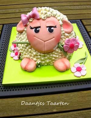 Girlie sheep - Cake by Daantje