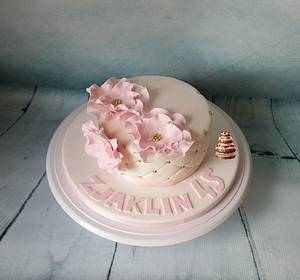 For Mum - Cake by Pluympjescake