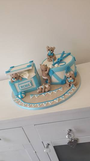 Playtime Teddies - Cake by Debi at Daisy's Delights