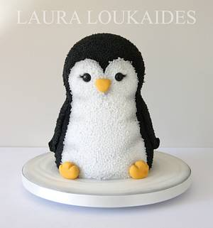 Pippa the Toy Penguin - Cake by Laura Loukaides