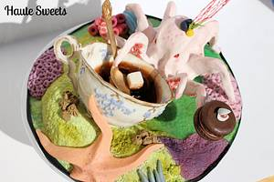 Tea at a tide pool - Cake by Hiromi Greer