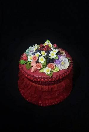 box of honey dough - Cake by WorldOfIrena