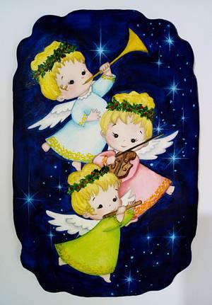 CHRISTMAS BLESSINGS - Cake by Snezana
