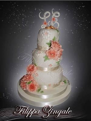 Elegante cake  - Cake by filippa zingale