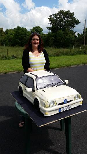 The car cake that could feed a village - Cake by Novel-T Cakes
