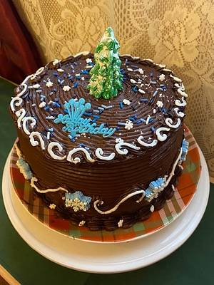 Cake and Cheesecake - Cake by Julia