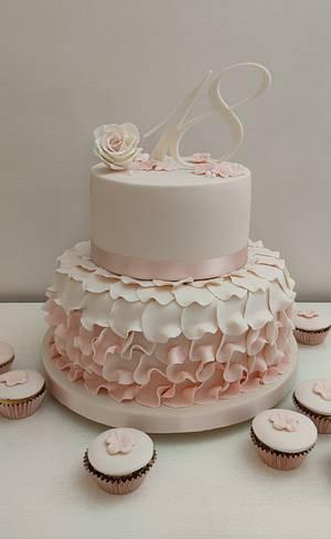 Rose cake  - Cake by Tania Chiaramonte