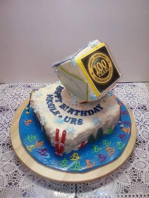 Birthdaycake - Cake by Aurelia'sTartArt