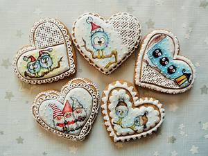 Christmas gingerbread - Cake by Veronika