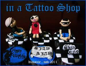 Tattoo - Cake by Diana