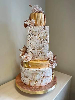 Wedding cake  - Cake by Polina karadzhova