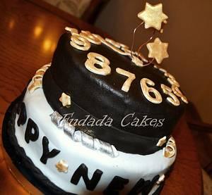 New Year's Cake - Cake by Fatema Elnashar