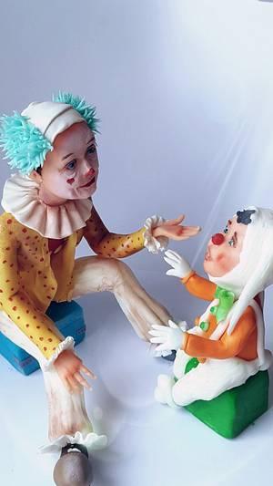 Clown!How must be.... - Cake by Olanuta Alexandra