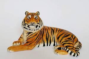 Tiger fondant cake topper - Cake by Iryna Mahda